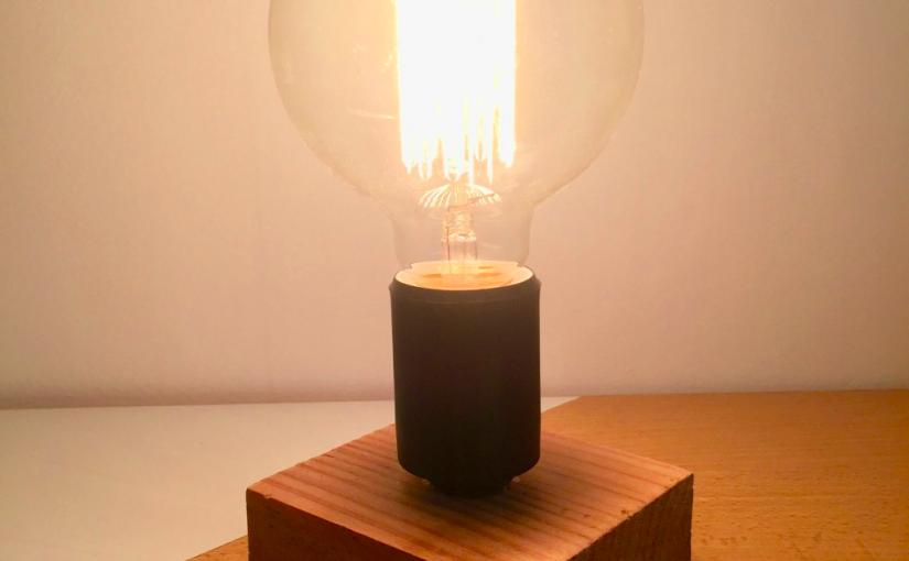 diy faire une lampe scandinave lagouagouache. Black Bedroom Furniture Sets. Home Design Ideas